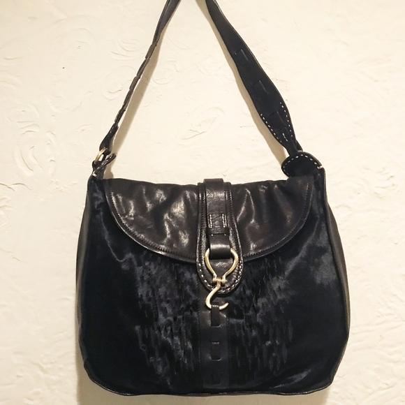 Andrew Marc Handbags - Andrew Marc Leather Hobo Bag